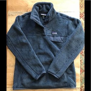 Patagonia Sweaters - Patagonia Re Tool Snap -T Pullover ~Smolder Blue
